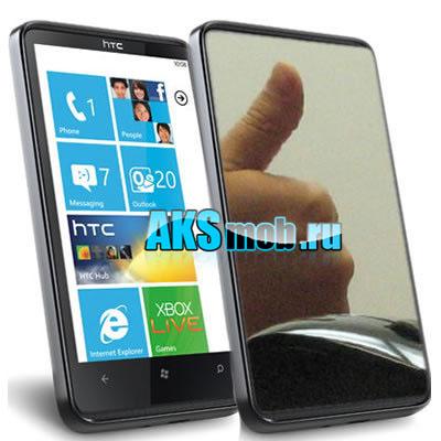 Защитная пленка для экрана (дисплея) HTC T8585 Touch HD2 Зеркальная