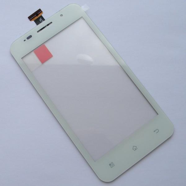 Тачскрин (сенсорное стекло) для Prestigio MultiPhone PAP 4322 DUO - белый - Оригинал