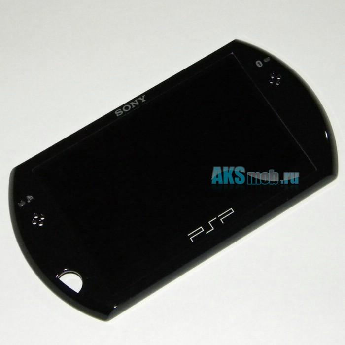 Дисплей (LCD экран) с передней панелью для Sony PSP Go (N1000, N1001, N1002, N1003, N1004, N1006, N1008) - Оригинал