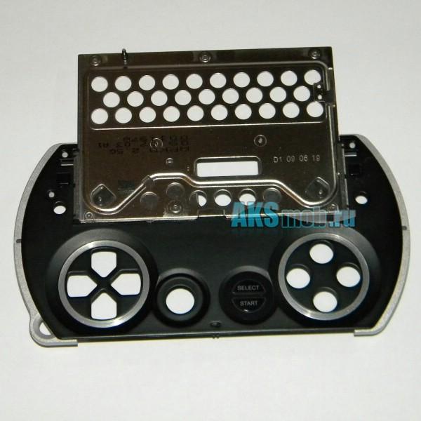 Механизм слайдера со средней частью корпуса и кнопками Select Start для Sony PSP Go - Оригинал