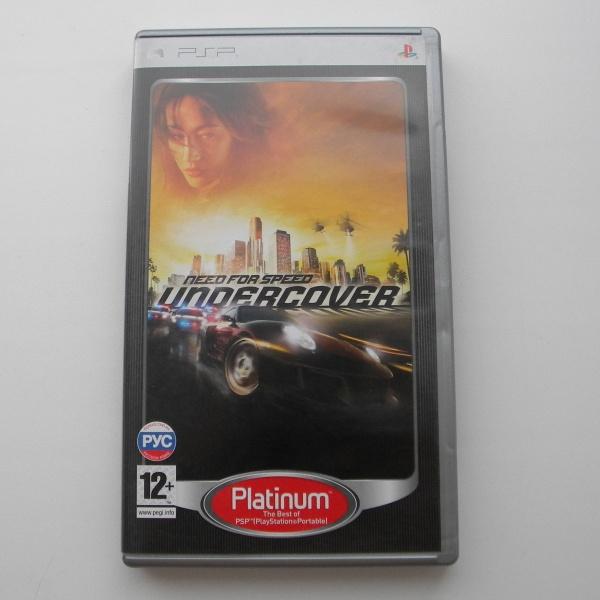 Диск для PSP с игрой Need For Speed - Undercover