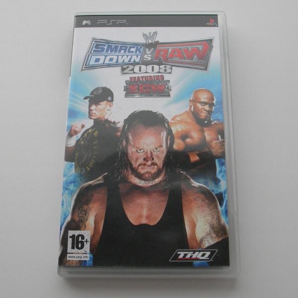 Диск для PSP с игрой Smack Down vs Raw