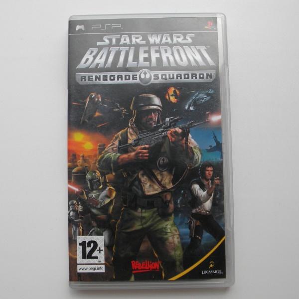 Диск для PSP с игрой Star Wars Battlefront - Renegade Squadron
