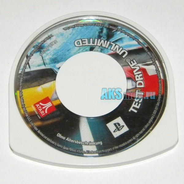 Диск для PSP с игрой Test Drive Unlimited - Used