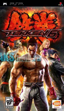 Диск для PSP с игрой Tekken 6 - Used