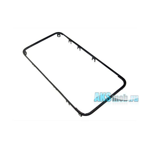 Рамка дисплея для Apple iPhone 4G - черная