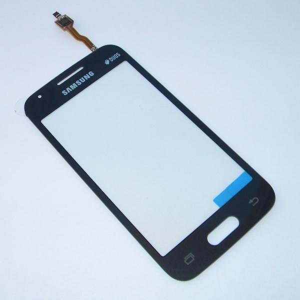 Тачскрин (Сенсорное стекло) для Samsung SM-G313H GALAXY Ace 4 Lite - черный
