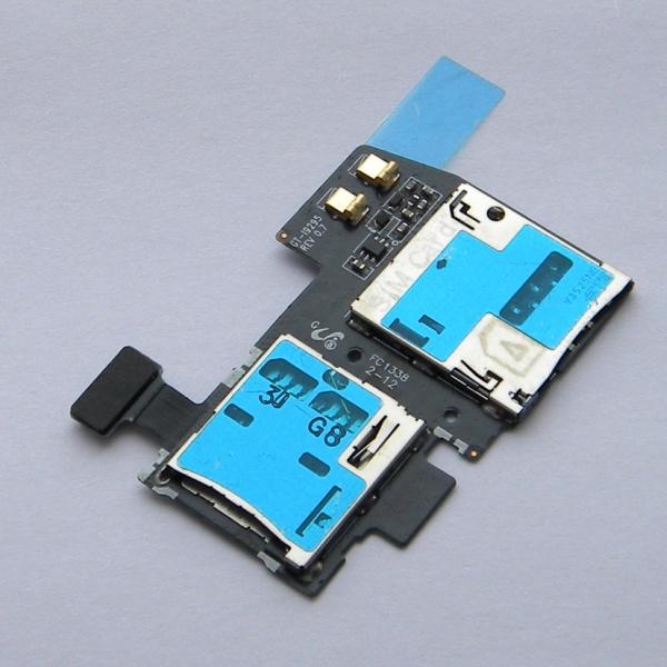 Плата sim карты и карты памяти для Samsung GT-i9295 Galaxy S4 Active