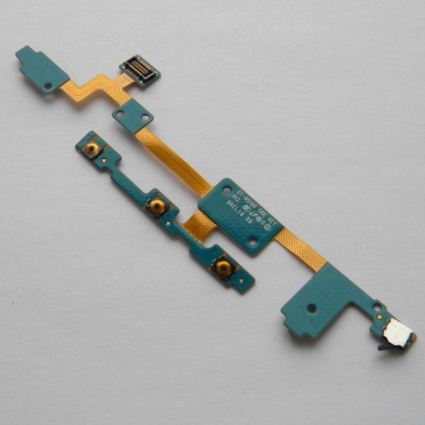 Шлейф side key R13 с кнопками громкости, включения и микрофоном для Samsung Galaxy Note 8.0 N5100 / N5110 / N5120 - Оригинал