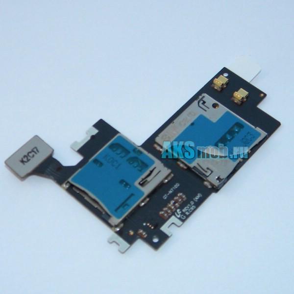 Плата sim карты и карты памяти для Samsung GT-N7100 Galaxy Note 2