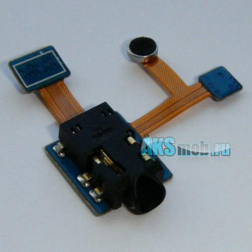 Шлейф (плата) с аудио разъемом, микрофоном и датчиком для Samsung Galaxy Tab 8.9 P7300