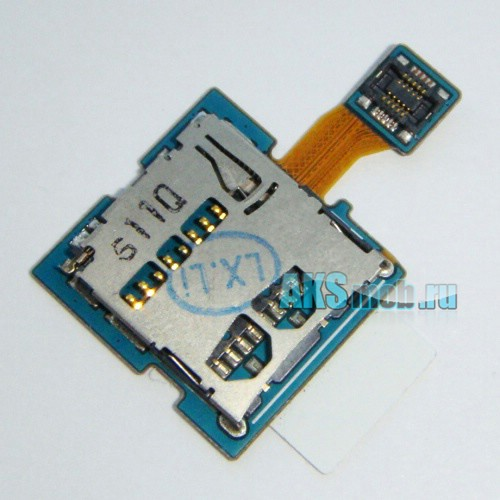 Шлейф (плата) для карты памяти Samsung Galaxy Tab 10.1 P7500