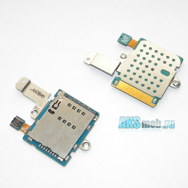 Шлейф (плата) sim карты для Samsung Galaxy Tab 10.1 P7500 Оригинал