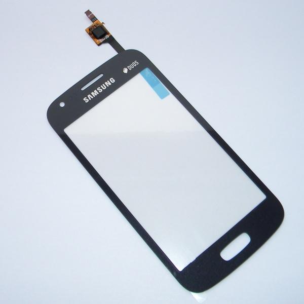 Тачскрин (Сенсорное стекло) для Samsung GT-S7270 Galaxy Ace 3 - черный