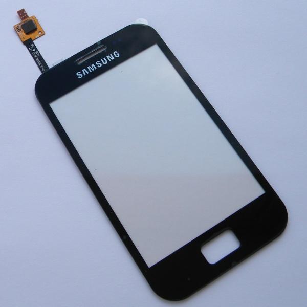 Тачскрин (Сенсорное стекло) для Samsung GT-S7500 Galaxy Ace Plus - черный
