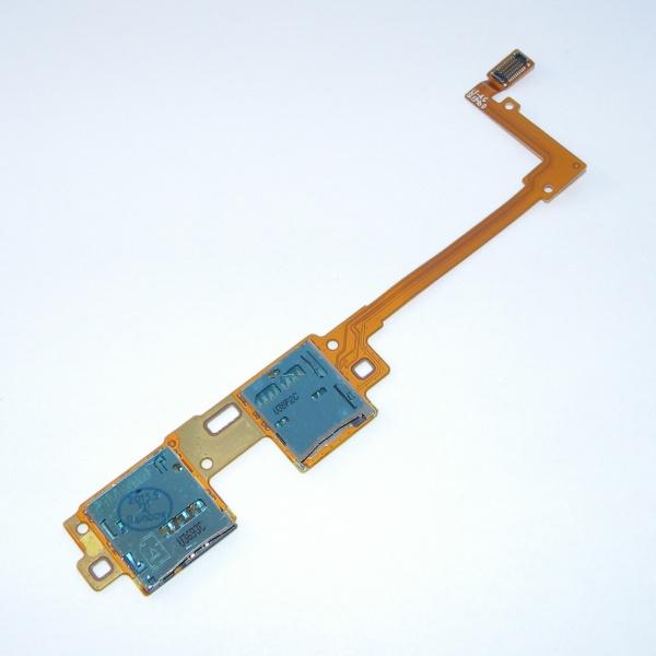 Шлейф с платой Sim карты и карты памяти для Samsung Galaxy Tab Pro 10.1 SM-T520 / SM-T525