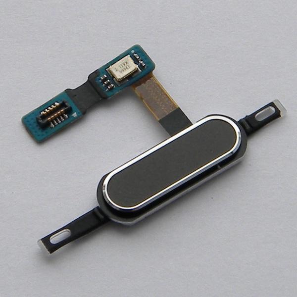 Шлейф на кнопку Home в сборе черная для Samsung Galaxy Tab S 10.5 SM-T800 / SM-T801 / SM-T805