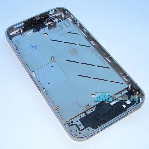 Средняя часть корпуса Apple iPhone 4S - A1387 и A1431 (серебристый)