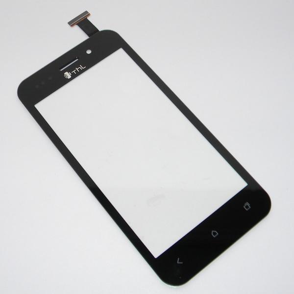Тачскрин (Сенсорное стекло) для THL V12 - черный - Оригинал