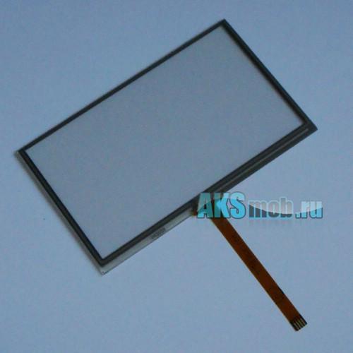 Тачскрин (Сенсорное стекло) для GPS навигатора 4,3 дюйма Тип18 (63мм*103мм, диагональ 121мм, 043058)