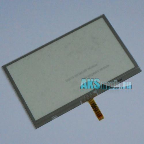Тачскрин (Сенсорное стекло) для GPS навигатора 4,3 дюйма Тип19 (66мм*105мм, диагональ 123мм, TP122)