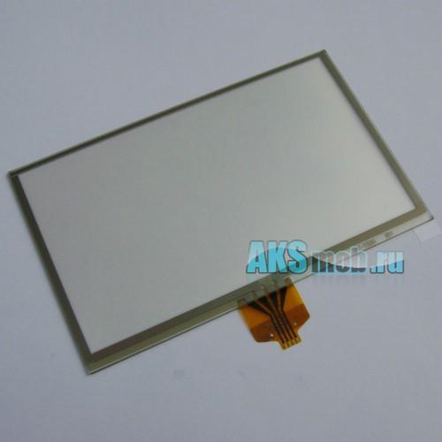 Тачскрин (Сенсорное стекло) для GPS Универсальный 4,3 дюйма Тип 3 (65мм*105мм, диагональ 123мм)