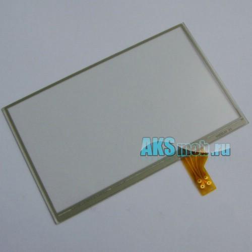 Тачскрин (Сенсорное стекло) для GPS Универсальный 4,3 дюйма Тип 5 (65мм*105мм, диагональ 123мм)