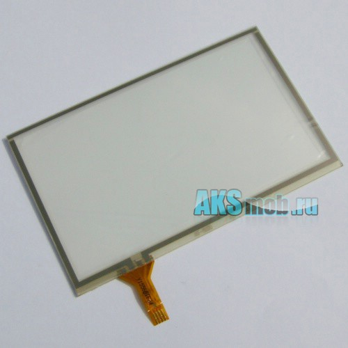 Тачскрин (Сенсорное стекло) для GPS Универсальный 4,3 дюйма Тип 6 (65мм*105мм, диагональ 123мм)