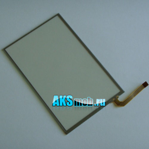 Тачскрин (Сенсорное стекло) для GPS Универсальный 4,8 дюймов (74мм*116мм, диагональ 137мм)