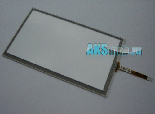 Тачскрин (Сенсорное стекло) для GPS навигатора 6,2 дюймов SY0039 (89мм*150мм, диагональ 174мм)