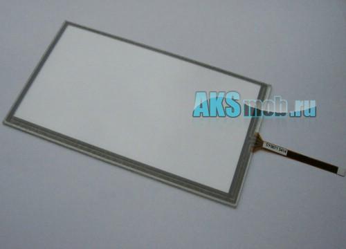 Тачскрин (Сенсорное стекло) для автомагнитолы 6,3 дюймов тип6 SY0071 (88мм*155мм, диагональ 178мм)