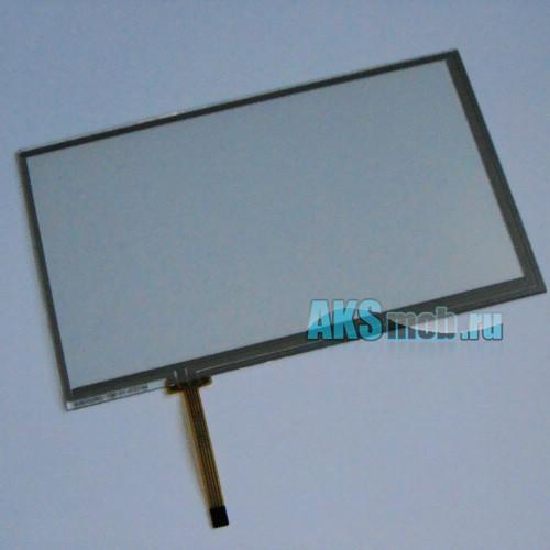 Тачскрин (Сенсорное стекло) для автомагнитолы 7 дюймов тип 4 (100мм*164мм, диагональ 192мм)
