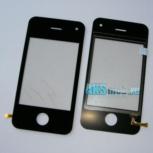 Тачскрин (Сенсорное стекло) для iPhone 4G Китай тип 1