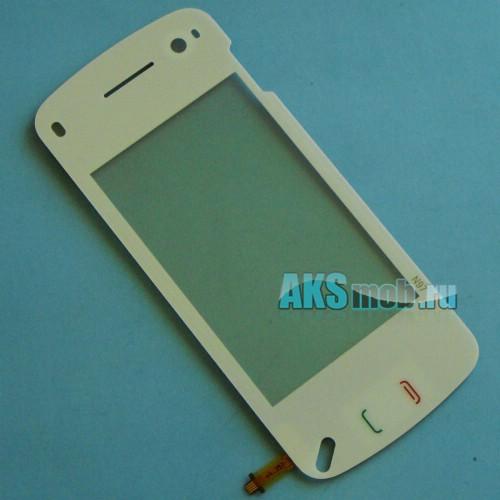 Тачскрин (Сенсорное стекло) Nokia N97 Китай (белый)