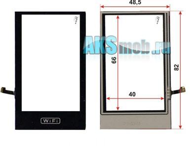 Тачскрин (Сенсорное стекло) для Nokia X6 WiFi Китай