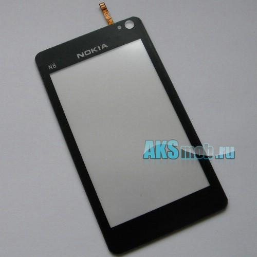 Тачскрин (Сенсорное стекло) для китайского Nokia N8 тип2