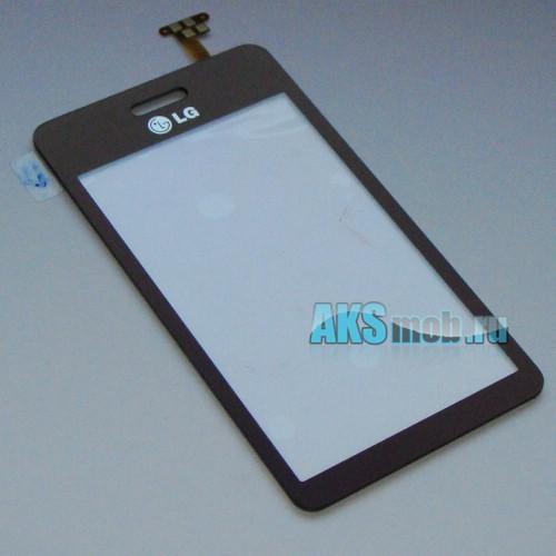 Тачскрин (Сенсорное стекло) для LG GD510 Red Оригинал