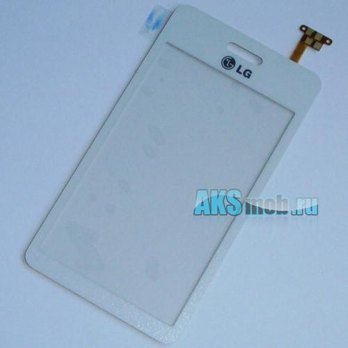 Тачскрин (Сенсорное стекло) для LG GD510 White Оригинал