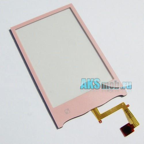 Тачскрин (Сенсорное стекло) для LG GT540 Розовый
