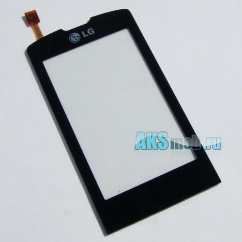 Тачскрин (Сенсорное стекло) для LG GW520 Черный