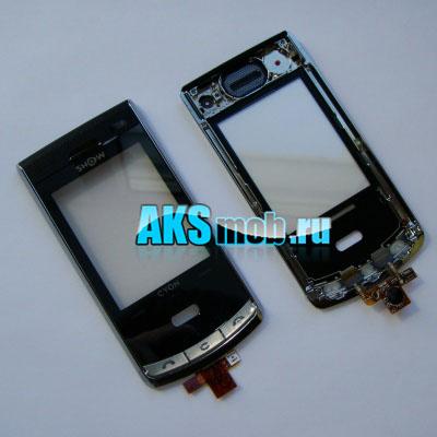 Тачскрин (Сенсорное стекло) LG KF750 с передней панелью и кнопками Оригинал