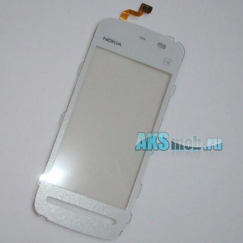 Тачскрин (Сенсорное стекло) для Nokia 5230 XpressMusic белый