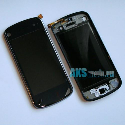 Тачскрин (Сенсорное стекло) для Nokia N97 Black