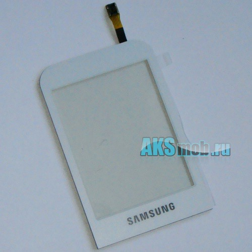 Тачскрин (Сенсорное стекло) для Samsung C3300 White Оригинал