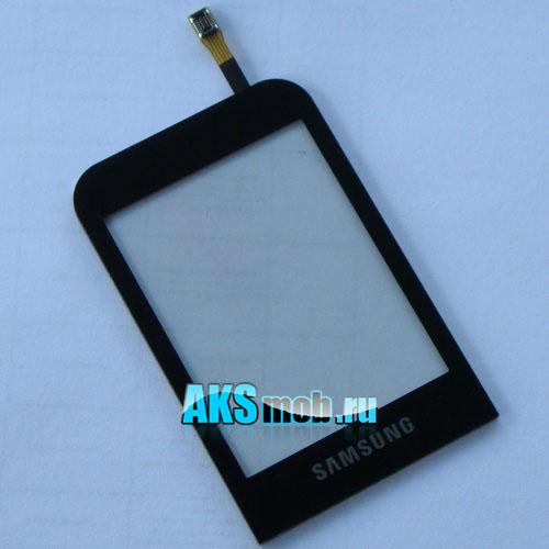 Тачскрин (Сенсорное стекло) Samsung GT-C3300 черный