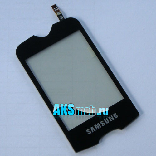 Тачскрин (Сенсорное стекло) Samsung GT-S3370 Corby 3G черный