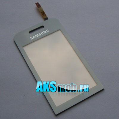 Тачскрин (Сенсорное стекло) Samsung GT-S5230 Star, Noble БЕЛЫЙ White Оригинал