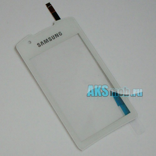 Тачскрин (Сенсорное стекло) для Samsung S5620 Monte White Оригинал