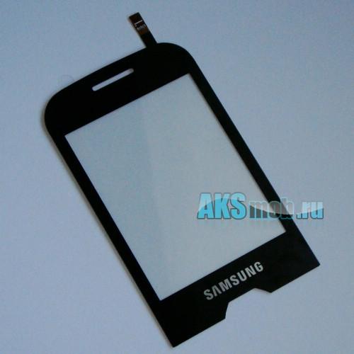 Тачскрин (Сенсорное стекло) для Samsung GT-S7070 Diva La Fleur Черный Оригинал