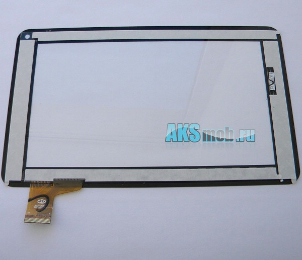 Тачскрин (сенсорная панель - стекло) для Allwinner A13 / Enot-E102 / Soulycin S18 / Freelander PH20 / Cube U25/26 / SOUICIN S18 / Jeka JK700 - touch screen